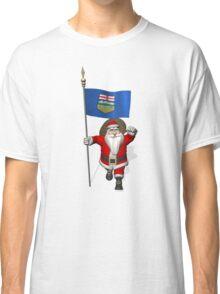 Santa Claus Visiting Alberta Classic T-Shirt