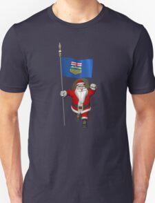 Santa Claus Visiting Alberta Unisex T-Shirt