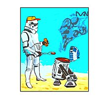 Stormtrooper griddle! Photographic Print