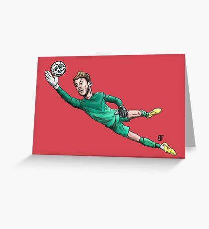 Diving Save Greeting Card