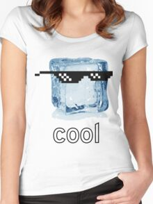 Ice Cube Cool Women's Fitted Scoop T-Shirt