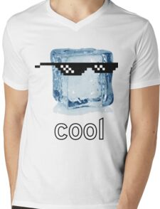 Ice Cube Cool Mens V-Neck T-Shirt
