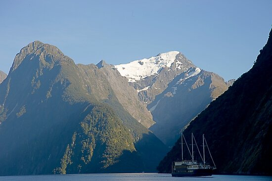 Milford Sound Morning 2 by Mark  Attwooll