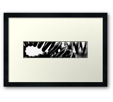 Telephone cable Framed Print