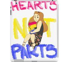 Hearts Not Parts iPad Case/Skin