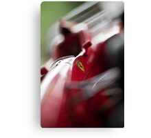 I'll win this race!!! Canvas Print