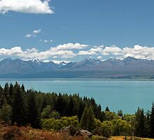Mt. Cook Panoramic Shot by Mark  Attwooll