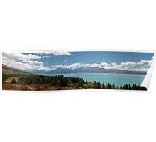 Mt. Cook Panoramic Shot Poster