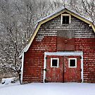French Hill Barn by Deborah  Benoit