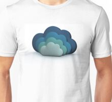 Blue Clouds Unisex T-Shirt