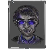 murdock - grey background iPad Case/Skin