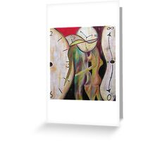 Io e te senza tempo- Time does not exist between me and you Greeting Card