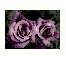 Royal Purple Antiquity Art Print