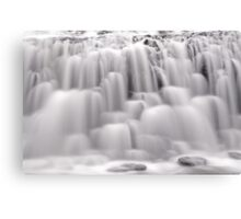 The many textures of a waterfall Canvas Print