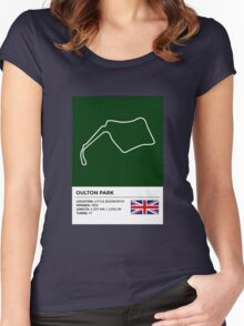 Oulton Park - v2 Women's Fitted Scoop T-Shirt
