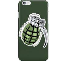 Archer - Smoke Grenade iPhone Case/Skin