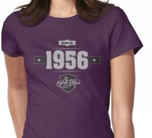 Born in 1956 (Light&Darkgrey) Womens Fitted T-Shirt