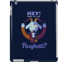 Pasghetti iPad Case/Skin
