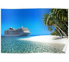 Caribbean Cruise Poster