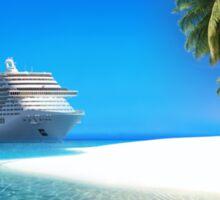 Caribbean Cruise Sticker