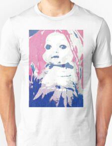 Scary Doll Screenprint #2 Unisex T-Shirt