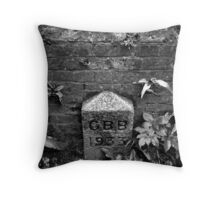 Boundary Stone Throw Pillow