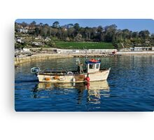 Free Spirit Leaving The Harbour Canvas Print