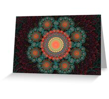 Julian kaleidoscope Greeting Card