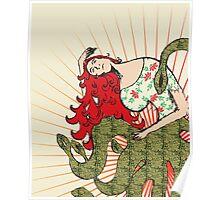 Lady Kraken Poster