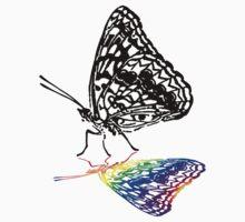 Pride Inside - Rainbow Reflection by Michelle Garrison