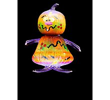 Mr Pumkin Photographic Print