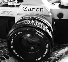 Canon AE-1 by clivester