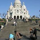 Sacre Coeur, Paris by wichwetyl