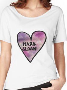 I Heart Mark Sloan - Grey's Anatomy Women's Relaxed Fit T-Shirt