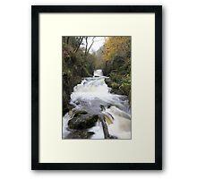 Watersemeet After Heavy Rain Framed Print