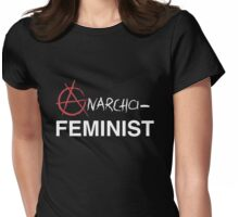 Anarcha-Feminist Womens Fitted T-Shirt