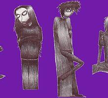 Rag Doll Soundgarden (Violet) by Hannah Christine Nicholson