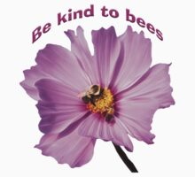 Be Kind to Bees One Piece - Long Sleeve