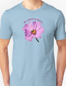 Be Kind to Bees Unisex T-Shirt