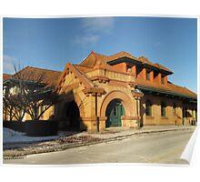 Erie Rail Station Poster