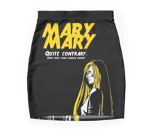 Mary, Mary, Quite Contrary (Panel 2 of 3) Mini Skirt