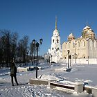 Vladimir - The Cathedral of the Assumption by Yulia Manko