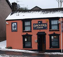 the drovers arms cefn coed. by TudorSaxon