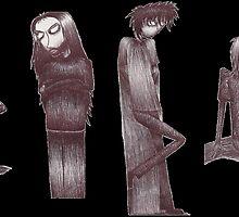 Rag Doll Soundgarden (Black) by Hannah Christine Nicholson