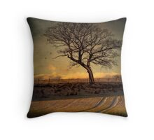 Boclair Road tree texture and brushes... Throw Pillow