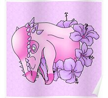 Pinkycephalosaurus Poster
