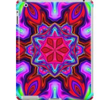 Bright Pink Mandala Star iPad Case/Skin