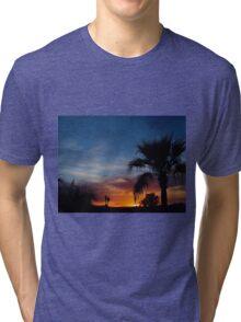 Paradise Night Tri-blend T-Shirt