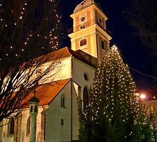 Collegiate Church by Klopocan