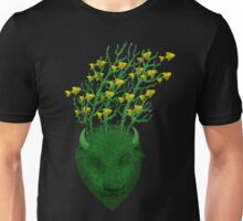 Sea Buffalo Dreaming Green Heart  Unisex T-Shirt